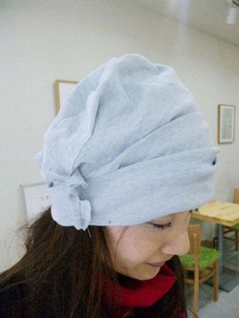 春夏用のカワイイ医療用帽子2