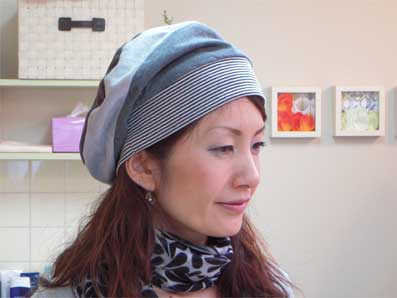 かわいい医療用帽子 2011春・夏
